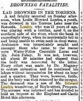 lesley howard drowning