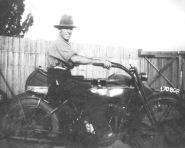 Poppa motorbike