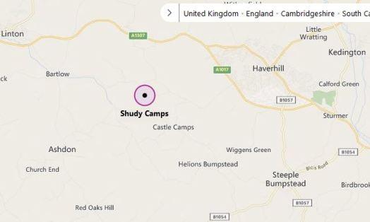 shudy camp map