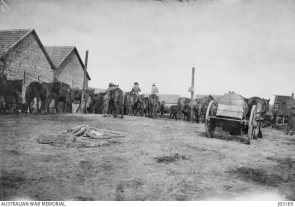 Troops at beersheba